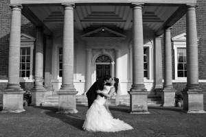 Boreham Photo of Bride and Groom kiss