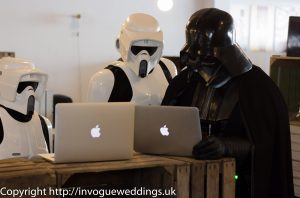 Vader and Biker scouts